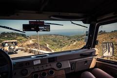 Balade en 4x4... (Gilderic Photography) Tags: portugal 4x4 car landscape vacation ocean jeep canon 500d gilderic driving