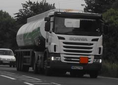 Asda ND62 FNZ near Oswestry (joshhowells27) Tags: asda tankers tanker asdatanker scania bigretailers lorry truck