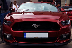 Red monster (Pinqq94) Tags: mustang red beast zlot rybnik fastcar