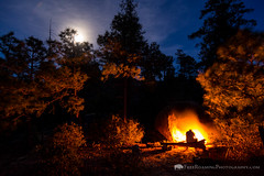 Camping in the Wilderness of Rocks (Free Roaming Photography) Tags: adultmale americansouthwest arizona arizonatrail backpacking boulders campfire camping coronadonationalforest desertmountains desertsouthwest malehiker moon moonlight nightsky ponderosapinetrees puschridgewilderness santacatalinamountains skyisland southernarizona starrynightsky thruhiker wildernessarea wildernessofrocks summerhaven unitedstates