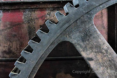 Zahnrad-Detail (gbel_d) Tags: detail museum zeche zollverein essen