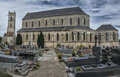 glise de Ranville, Normandy (David Feuerhelm) Tags: nikkor photomerge church normandy ranville cemetery nikon d7100
