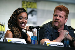 Sonequa Martin-Green & Michael Cudlitz (Gage Skidmore) Tags: robert kirkman scott gimple gale anne hurd greg nicotero dave alpert jeffrey dean morgan andrew lincoln norman reedus danai gurira chandler riggs steven yeun lauren cohan ross marquand sonequa martin green michael cudlitz christian serratos josh mcdermitt walking dead amc san diego comic con international california convention center