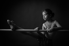 Tiny Dancer (cvillandry (Instagram & Twitter @cvillandry)) Tags: ballet dance ballerina balletshoes girl dancer blackandwhite dancephotography