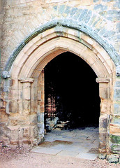 East Sussex.  October 26th.-30th. 1998 (Cynthia of Harborough) Tags: 1998 architecture abbeys arches entrances ruins