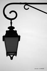 Meymac (damzed) Tags: pentaxk3 sigma70300apo corrze meymac monochrome noiretblanc candlabre