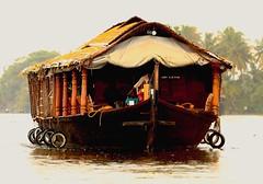 House  boat (Rajavelu1) Tags: boat rever water nature beautyofnature art artland creative canon6d travel toor allapuzha kerala india internationalphotographer colours houseboat veniceofeast