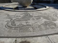 Foro Italico (Piazzale del) (Fontaines de Rome) Tags: roma mario foro rosso piazzale fontana globo giulio italico pediconi giuliorosso paniconi mariopaniconi giuliopediconi piazzaledelforoitalico fontanadelglobo