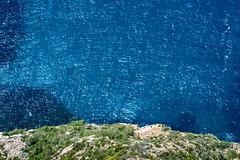 Deep Blue Sea (PerixPic) Tags: calanques provenza blue cliff colofull deep green infinite rithm rocks sea wind exif:aperture=ƒ13 geocountry exif:make=nikoncorporation exif:isospeed=64 geostate exif:model=nikond810 exif:lens=7002000mmf28 geo:lon=5479430555555 geocity geolocation geo:lat=43210680555555 camera:model=nikond810 exif:focallength=140mm camera:make=nikoncorporation