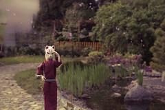 Fox and Sakura (Ki-mora) Tags: doll fox sakura kimono wakeup kitsune momoko wudsp wudspazone003