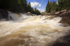 Majestic Pool (Pierre-Luc G.) Tags: longexposure canada nature water river waterfall quebec québec canondslr chute waterscape longshot notredamedemontauban canon1635f4lis