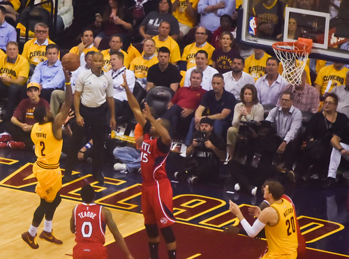 Cleveland Cavaliers vs. Atlanta Hawks by EDrost88, on Flickr