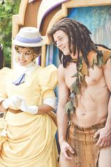 Tarzan & Jane (dolewhip) Tags: jane disneyland disney tarzan frontierland bigthunderranchjamboree limitedtimemagic longlostfriendsweek