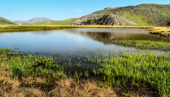Breezy waters (✓ Elena Pejchinova) Tags: mountain reflection nature water field grass weather reflections landscape nationalpark highlands outdoor hiking hill bluesky hike hills highland macedonia plain clearsky foothill bistra mavrovo sunnyweather nationalparkmavrovo mountbistra