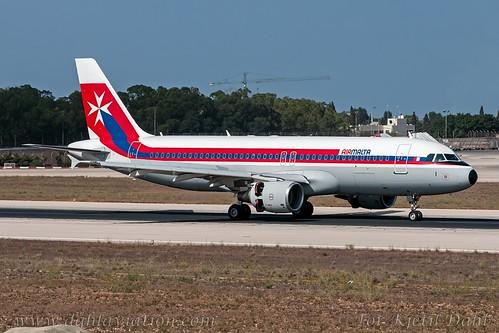 """9H-AEI, Air Malta, Airbus A320-214 - cn 2189.""""Rabat - Citta Vittoria"""" / """"Retro (1974)"""""""