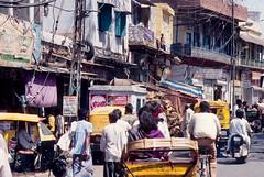 India - Old Delhi, Chandni Chowk (dario lorenzetti) Tags: india olddelhi chandni chowk