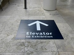 Museum, The Getty Center, Floor Graphic