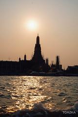 Sunset in Bangkok (Torzka) Tags: bangkok thailande couchdesoleil vacances voyage