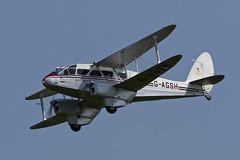 De Havilland DH.89A Dominie - 6 (NickJ 1972) Tags: fly dragon aviation navy collection airshow shuttleworth dehavilland rapide 2016 dominie oldwarden dh89 gagsh jemmameeson