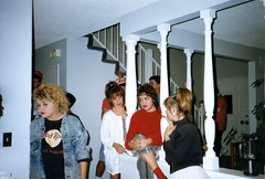 Found Photo of '80s Teen Party (StevenM_61) Tags: party teenagers 1980s foundphoto teenagegirls