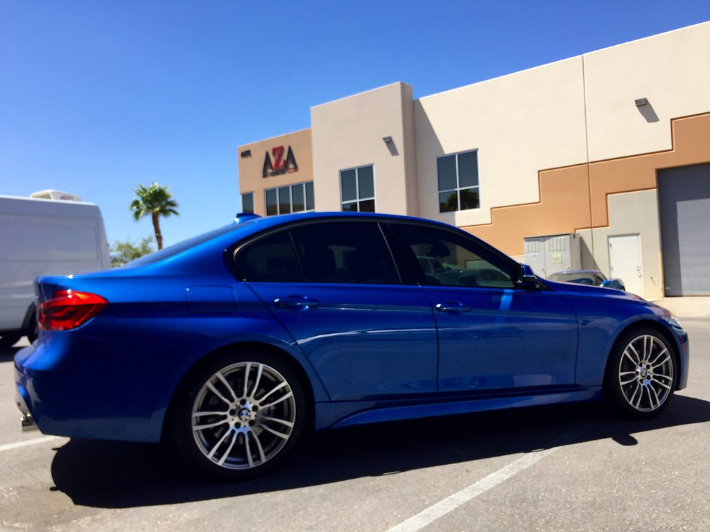 Pro Tect Film Powered By Xpel 2016 Bmw 340i Blue