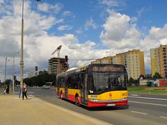Solaris Urbino 12III, #1415, MZA Warszawa (transport131) Tags: bus autobus ztm warszawa solaris urbino mza warsaw