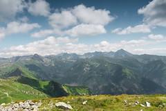 W stronę Tatr Wysokich. Po prawej Krywań (czargor) Tags: giewont outdoor mountains mountainside inthemountain nature landscape