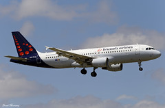 Brussels Airlines A320-200 OO-TCQ (birrlad) Tags: lisbon lis international airport portugal aircraft aviation airplane airplanes airliner airline airlines airways approach arrival arriving finals runway landing airbus a320 a320200 ootcq brussels beeline
