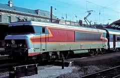 15029  Strabourg  13.05.79 (w. + h. brutzer) Tags: strasbourg eisenbahn eisenbahnen train trains frankreich france railway elok eloks lokomotive locomotive zug 15000 sncf webru analog nikon