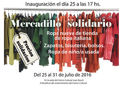 """Cartel del Mercadillo Solidario • <a style=""""font-size:0.8em;"""" href=""""http://www.flickr.com/photos/136092263@N07/28263667550/"""" target=""""_blank"""">View on Flickr</a>"""