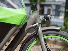 WorkCycles Kr8 Grey-Green-3 (@WorkCycles) Tags: amsterdam bak bakfiets bakfietsen bicycle bike box cargobike dutch family kr8 transport workcycles