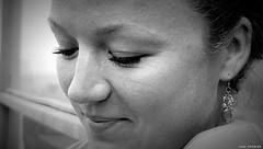 Valerie (jaap spiering | photographer) Tags: street portrait people blackandwhite bw woman girl monochrome face closeup mouth hair eyes women noiretblanc zwartwit femme dream streetphotography lips mens portret vrouw femmes vrouwen mensen gezicht gx8 jaapspiering jaapspieringphotographer jaapspieringfotografie