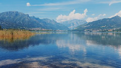 reflection (Lets go hand in hand.) Tags: lake lakeside italy landscape view nature natural water reflection