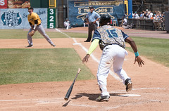 Bridgeport Bluefish vs. New Britain Bees--June 2016 (karenkingphotography) Tags: baseball bluefish wwwkarenkingphotographycom