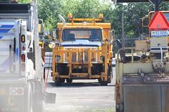 NYSDOT Harbor Lock (13) (RyanP77) Tags: nysdot newyorkstatedepartmentoftransportation international mack granite plow snowplow snow larue blower dump truck dot new york viking cives henderson trucks trucking removal equipment