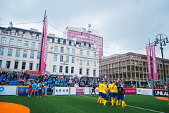 Homeless World Cup 2016, George Square, Glasgow, Scotland - 16 July 2016 (hfcaustralia) Tags: scotland football cambodia action sweden glasgow soccer saturday streetsoccer homelessworldcup aballcanchangetheworld hwc2016 thisgameisreal