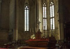 Gothic Altar (MrBlackSun) Tags: abbey abbaye abbatiale saintrobert chaisedieu clement vi france auvergne hauteloire nikon d810