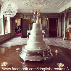 Photo of The weekends wedding cake at the venue Thornton Manor @thorntonmanor my Vintage Design done in a 4 tier with a handmade bride and groom topper #weddingcake #cake #cakeart #cakestagram #cakeartist #cakedesign #cakedecorating #beautifulweddingcake #prettywe