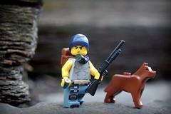 I S O L A T I O N ( Spencer) Tags: lego spencer isolation apocalypse minifig outside nikon d5