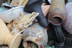 Unnecessary Urns (peterkelly) Tags: digital ontario canada northamerica kitchener art installation sculpture broken vases vase urn canon 6d