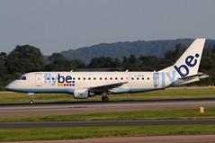 G-FBJK (LIAM J McMANUS) Tags: gfbjk flybe flybecom jersey be bee embraer e75 er7 e175 embraer175 manchester man egcc