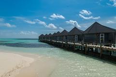 Wasserbungalow Malediven Traum