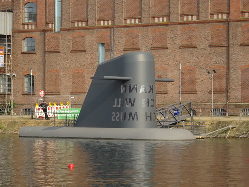 Duisburg: Kunst U-Boot