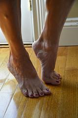 _DSC0068jj (ARDENT PHOTOGRAPHER) Tags: calves muscular female woman flexing skinny mature milf gilf highheels tiptoe