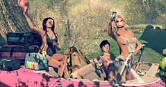 girls on the road (Geey) Tags: pose ross event blog catwa