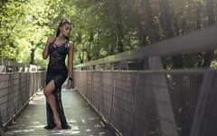 (dimitryroulland) Tags: nikon d600 85mm 18 dimitry roulland natural light nature paris france dance dancer bridge black dress