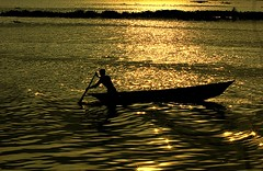 ,          (~~ASIF~~) Tags: canon60d outdoor water boat colar sunset silhotte dark fisherman villagelife bangladesh