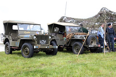 Jeeps GSJ787/20389730 JKX412/M4127207 (NTG's pictures) Tags: show fiction cars tv jeeps display aircraft military air country wwii science vehicles shows trucks dalton barracks abingdon reenactors airfield gsj78720389730 jkx412m4127207