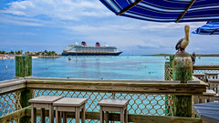 The Disney Dream from Heads Up Bar (Curtis Lannom) Tags: cruise vacation magic dream disney mickey dcl castawaycay thebahamas southabaco