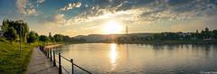 Someș (Lucian Nuță) Tags: sunset river romania cluj napoca clujnapoca somes